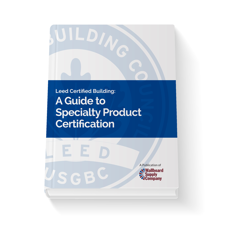 LEED Speciality Product Certification Guide